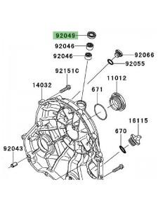 Joint spi carter d'embrayage Kawasaki Versys 650 (2010-2014) | Réf. 920491475