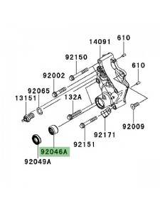 Roulement à aiguilles carter de transmission Kawasaki Versys 650 (2010-2014) | Réf. 920461148