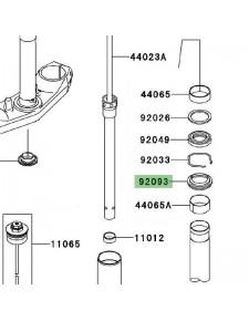 Cache poussière Kawasaki Versys 650 (2010-2014) | Réf. 920930035