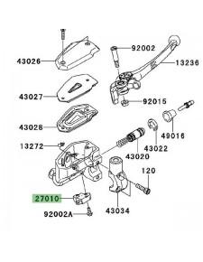 Contacteur de frein avant Kawasaki Versys 650 (2010-2014) | Réf. 270100025