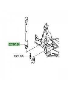 Contacteur de frein arrière Kawasaki Versys 650 (2010-2014) | Moto Shop 35