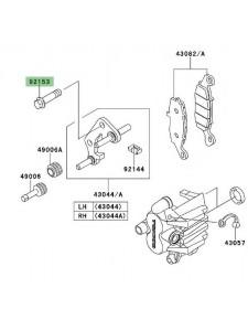 Vis de fixation étrier de frein avant Kawasaki Versys 650 (2010-2014) | Réf. 921531680