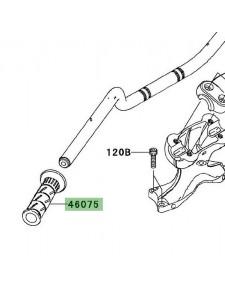Poignée caoutchouc gauche Kawasaki Versys 650 (2010-2014) | Moto Shop 35