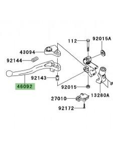 Levier d'embrayage Kawasaki Versys 650 (2010-2014) | Réf. 460920031