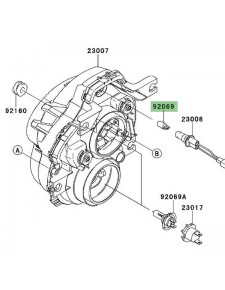 Veilleuse (12V/5W) optique avant Kawasaki Versys 650 (2010-2014) | Réf. 920691016