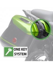 """Kit serrures """"clé unique"""" pour valises Kawasaki (2 x 28 litres)"""