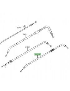 Câble de fermeture des gaz Kawasaki Versys 650 (2015 et +)   Réf. 540120301