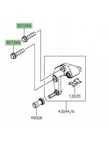 Vis étrier de frein avant Kawasaki Versys 650 (2015 et +) | Réf. 921541646