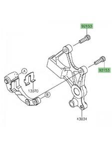 Vis étrier de frein arrière Kawasaki Versys 650 (2015 et +) | Réf. 921541625