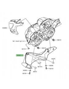 Habillage inférieur tête de fourche Kawasaki Z900 A2 (2018-2019) | Moto Shop 35