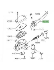 Levier de frein Kawasaki Z650 (2017 et +) | Réf. 132360140