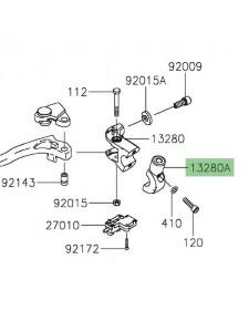 Support rétroviseur gauche Kawasaki Z650 (2017 et +) | Réf. 132800307