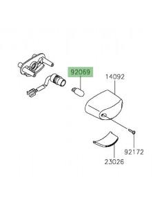Ampoule (12V/5W) éclairage de plaque Kawasaki Z650 (2017 et +) | Réf. 920691016