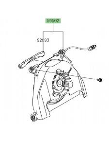 Ventilateur Kawasaki Z650 (2017 et +) | Réf. 595020608