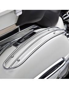 Barres supérieures chromées pour sacoches latérales Kawasaki VN1700 (2009-2014) | Réf. K53020185
