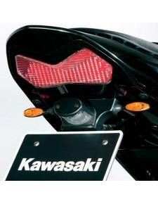 Mini-clignotants arrière chrome satiné Kawasaki Z1000 (2004-2006)   Réf. 096LIT0004