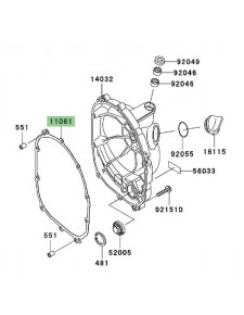 Joint carter d'embrayage Kawasaki z1000 (2003-2009) | Réf. 110611166