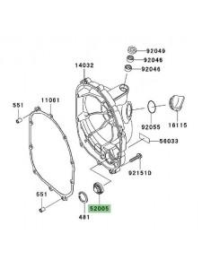 Hublot carter d'embrayage Kawasaki Z1000 (2003-2009) | Réf. 520051120