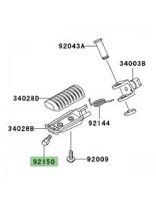 Téton de repose-pieds Kawasaki Z1000 (2003-2009) | Réf. 921501114