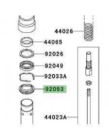 Cache poussière Kawasaki Z1000 (2003-2006)   Réf. 920931268