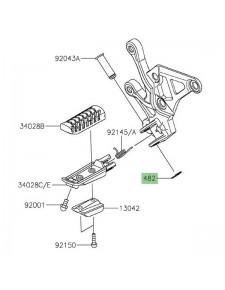 Circlip Type-E 10mm Kawasaki 482EA0100 | Moto Shop 35