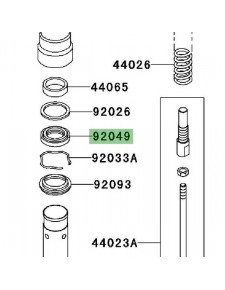 Joint spy de fourche Kawasaki Z1000 (2003-2006) | Réf. 920491363