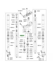 Fourche complète Kawasaki Z1000 (2003-2006) | Moto Shop 35