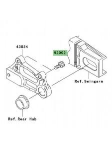 Vis fixation étrier de frein avant Kawasaki Z1000 (2003-2006) | Réf. 920021178