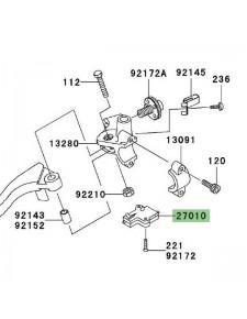 Contacteur d'embrayage Kawasaki Z1000 (2003-2013) | Réf. 270101094