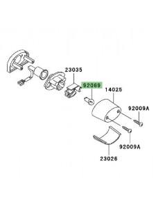 Ampoule éclairage de plaque Kawasaki Z1000 (2003-2009) | Réf. 920691055