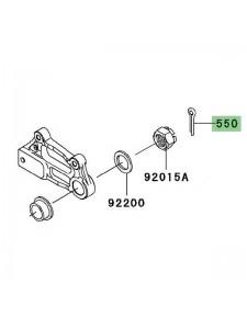 Goupille écrou de roue Kawasaki Z1000 (2003-2006) | Réf. 550AA4040