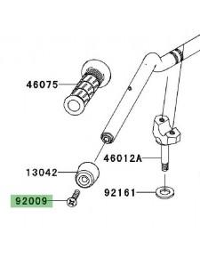 Vis fixation embout de guidon Kawasaki Z1000 (2003-2009) | Réf. 920091257