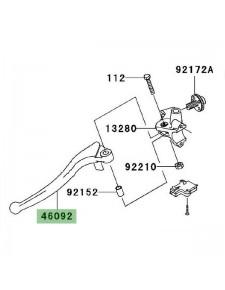 Levier d'embrayage Kawasaki Z1000 (2003-2009) | Réf. 460920003