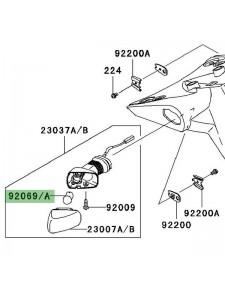 Ampoule (12V/21W) clignotants arrière Kawasaki Z1000 (2007-2009) | Moto Shop 35