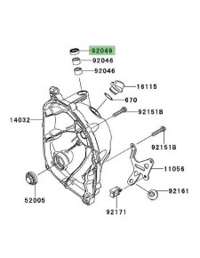 Joint spy carter d'embrayage Kawasaki Z1000 (2010-2013) | Réf. 920491475