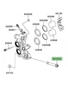 Vis fixation étrier de frein avant Kawasaki Z1000 (2010-2013) | Réf. 921531890