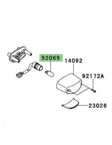 Ampoule (12V/5W) éclairage de plaque Kawasaki Z1000 (2010-2013) | Réf. 920691016