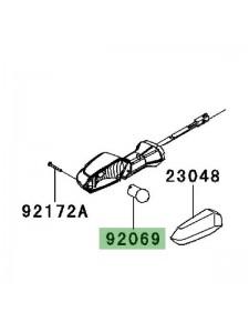 Ampoule (12V/10W) de clignotant arrière Kawasaki Z1000 (2010-2013) | Réf. 920690076