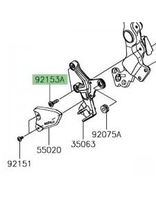 Vis M8x30 fixation platine repose-pieds avant Kawasaki Z900RS (2018-) | Réf. 921531630