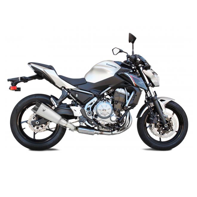 Ligne complète IXRace M10 Titanium Kawasaki Z650/Ninja 650 (2017-) | Réf. WK7653ST
