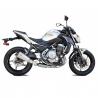 Ligne complète IXRace M10 Titanium Kawasaki Z650/Ninja 650 (2017-)
