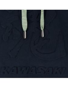 Détail Sweat-shirt à capuche homme Kawasaki Tamashii Hoody (S à 3XL) | Moto Shop 35
