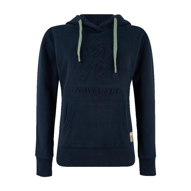 Sweat-shirt à capuche femme Kawasaki Tamashii Hoody (XS à 2XL)   Moto Shop 35