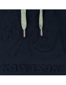 Détail Sweat-shirt à capuche femme Kawasaki Tamashii Hoody (XS à 2XL)   Moto Shop 35
