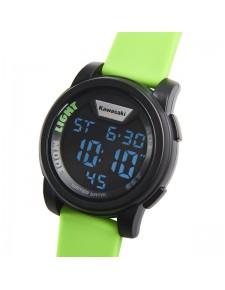 Montre numérique bracelet vert Kawasaki | Réf. 186SPM0032