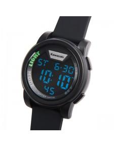 Montre numérique bracelet noir Kawasaki | Réf. 186SPM0033