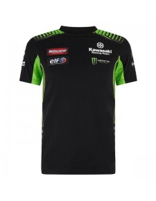 T-shirt homme Kawasaki Racing Team WorldSBK 2019 | Devant