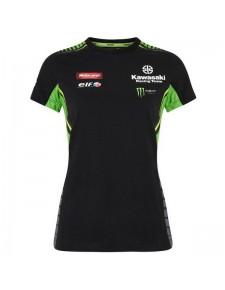 T-shirt femme Kawasaki Racing Team WorldSBK 2019 | Devant
