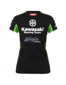 T-shirt femme Kawasaki Racing Team WorldSBK 2019 | Dos