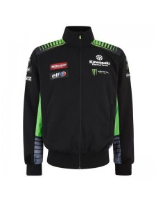 Sweatshirt homme Kawasaki Racing Team WorldSBK 2019 | Devant
